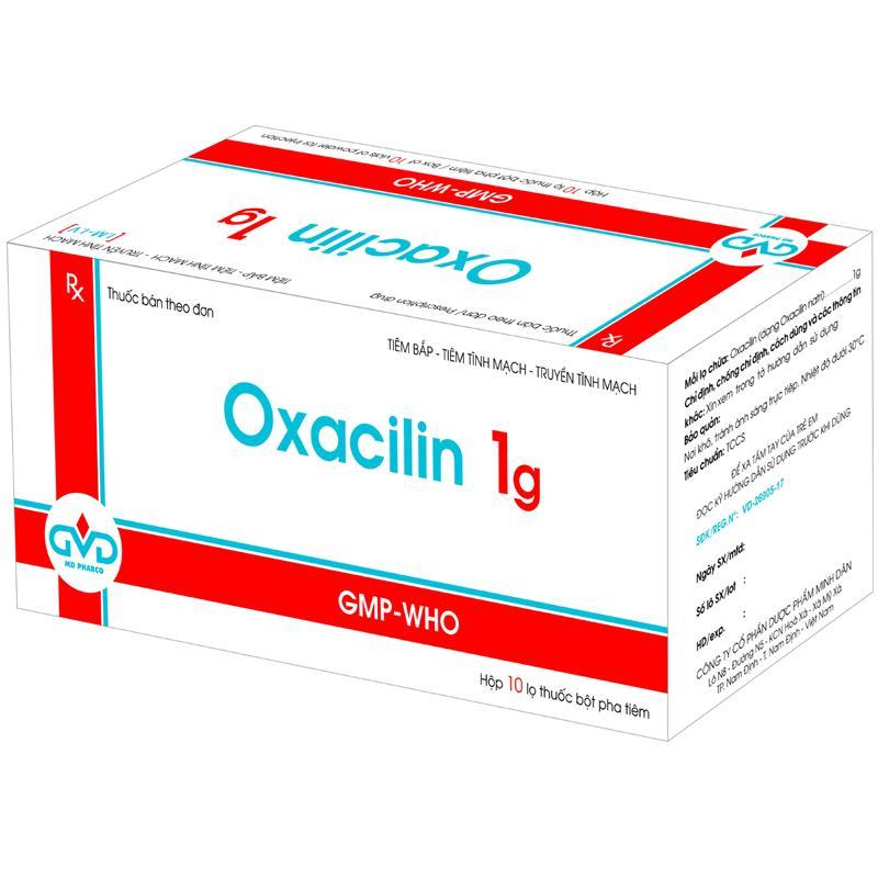 Oxacilin 1g