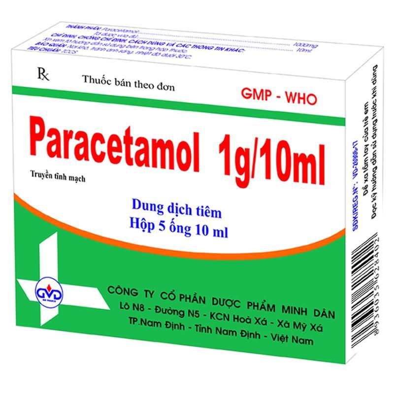 Paracetamol 1g 10ml